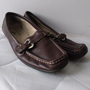 "Anne Klein Iflex "" Marhymer"" Leather Loafers sz 6"